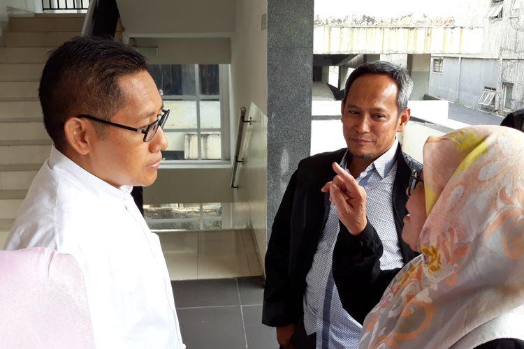 Anas Urbaningrum dan Siti Fadilah Supari mengajukan peninjauan kembali di Pengadilan Tipikor Jakarta, Kamis (31/5/2018).