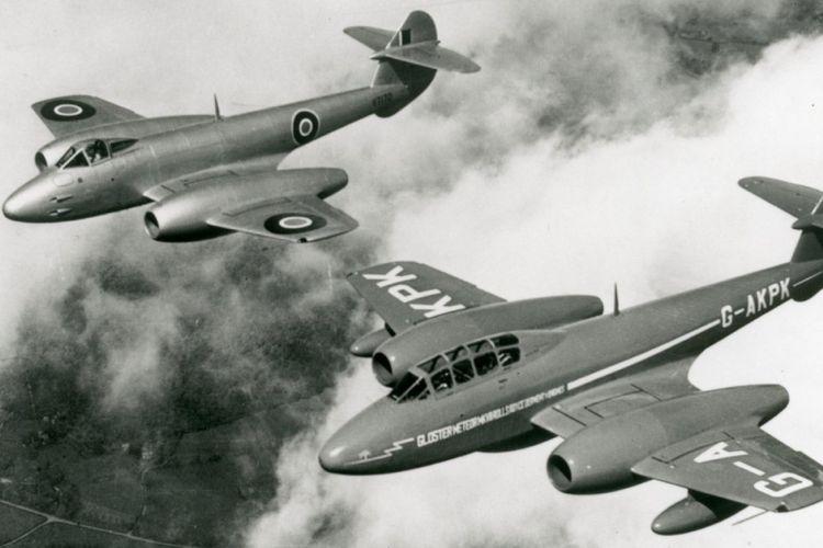 Beberapa tipe Pesawat Gloster Meteor