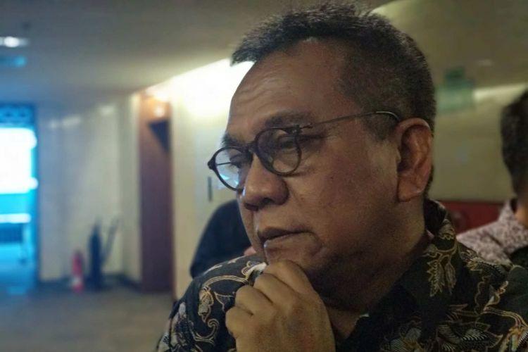 Wakil Ketua DPRD DKI Jakarta M Taufik di Balai Kota DKI Jakarta, Rabu (18/4/2018).