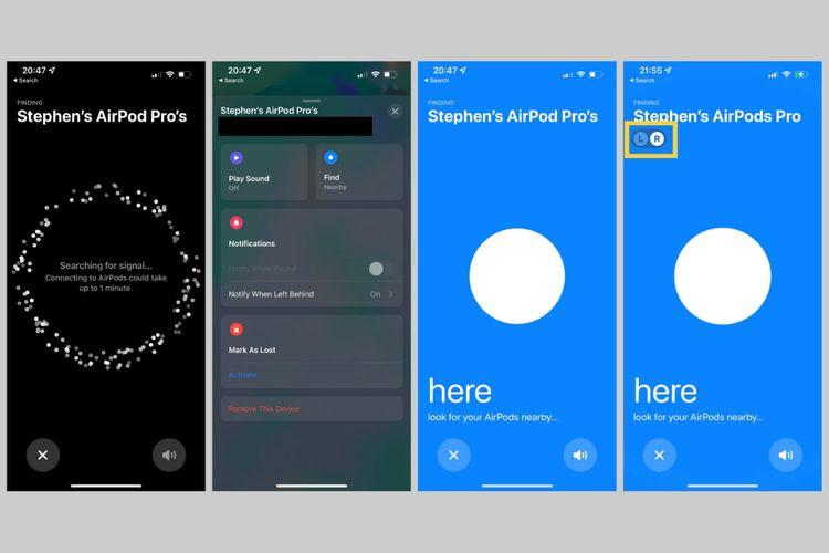 AirPods Pro dan AirPods Max kini bisa dilacak lewat aplikasi Find My