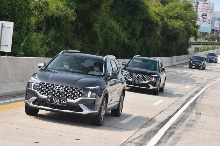 Media test drive Hyundai New Santa Fe