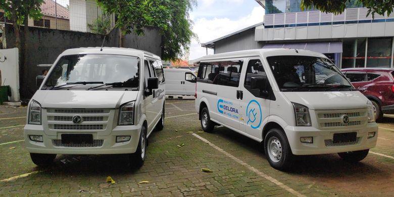 DFSK memperkenalkan Gelora dan Gelora, Kamis (5/3/2020). Produk ini mengisi pasar kendaraan komersial dengan pilihan motor listrik