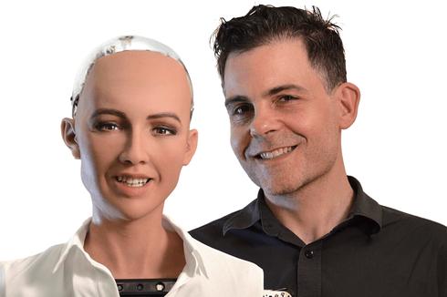 David Hanson, Sang Jenius Pencipta Robot Manusia