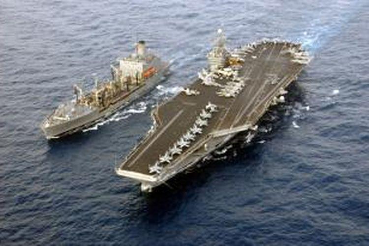 Kapal induk AS, USS Harry Truman.
