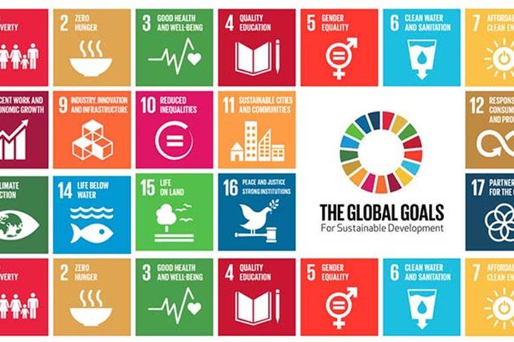 Konferensi Tahunan Sustainable Development Goals (SDGs) 2018 dibuka Wakil Presiden RI Jusuf Kalla di Hotel Fairmont, Jakarta Pusat, Senin (17/12/2018) pagi.