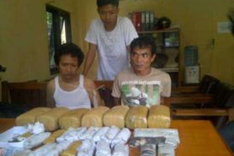 Pemilik Ganja delapan kilo gram Sn dibekuk saat di lokalisasi