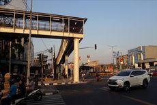 Jumat Sore, Jembatan Stasiun LRT Velodrome-Halte Transjakarta Pemuda Bisa Digunakan