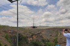 Wisata Lembah Ngingrong Gunungkidul, Bisa Main Flying Fox