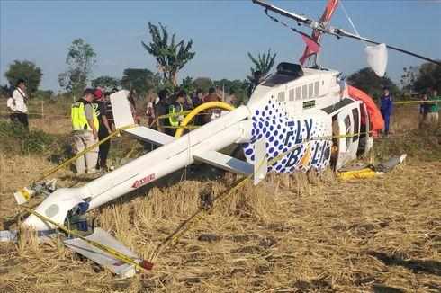 Helikopter yang Jatuh di Lombok Tengah Berpenumpang 3 WNA
