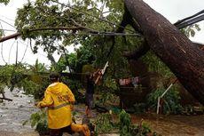 Hujan dan Angin Kencang Terjang Makassar dan Gowa, Pohon Tumbang dan Pengunjung Terjebak di Lift