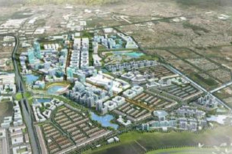 Rendering Bandung Technopolis