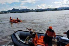 Terjebak Pusaran Air, Perahu Tenggelam, Satu Penumpang Tersedot