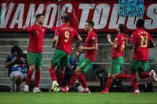 Hasil Portugal Vs Luksemburg - Ronaldo Hattrick, Selecao das Quinas Menang 5-0