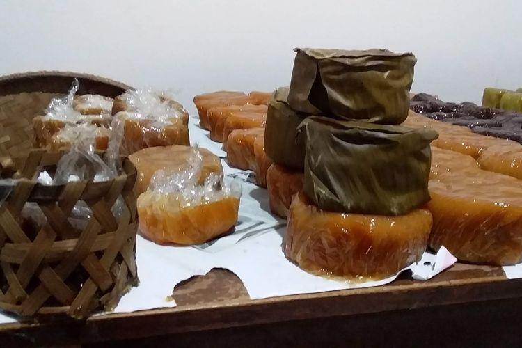 Kue keranjang Ong Eng Hwat di di Kampung Kentangan Tengah Nomor 67, Jagalan, Pecinan Semarang.