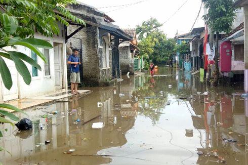Sudah 17 Jam, Banjir di Kampung Bulak Tangsel Belum Surut