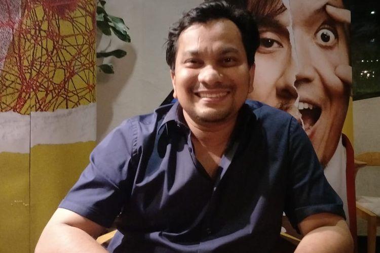 Tompi dalam jumpa pers syukuran 500 ribu penonton film Pretty Boys di Ecology Kemang, Jakarta Selatan, Senin (30/9/2019)