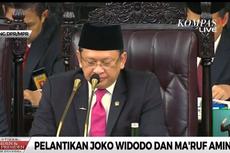 Pantun Ketua MPR saat Pelantikan Jokowi-Ma'ruf Jadi Trending Topic