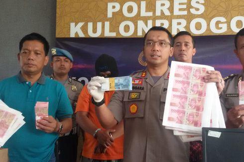 Pemilik Percetakan di Kulon Progo Cetak Uang Palsu Mirip Seperti Asli
