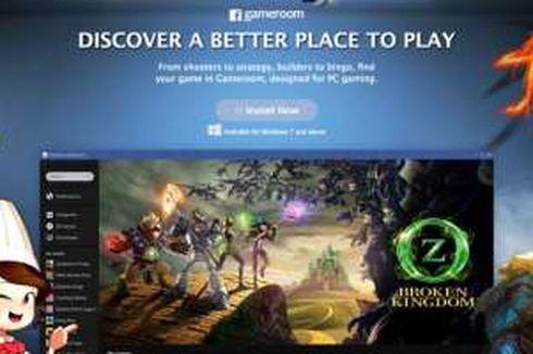 Facebook Rilis Portal Game ala Steam, Gameroom