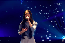 Pulang dari Jerman, Claudia Nyanyikan Lagu Andmesh di The Voice Indonesia