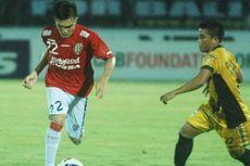 Berkat Gol Indah Penyerang Anyar, Mitra Kukar Bungkam Bali United
