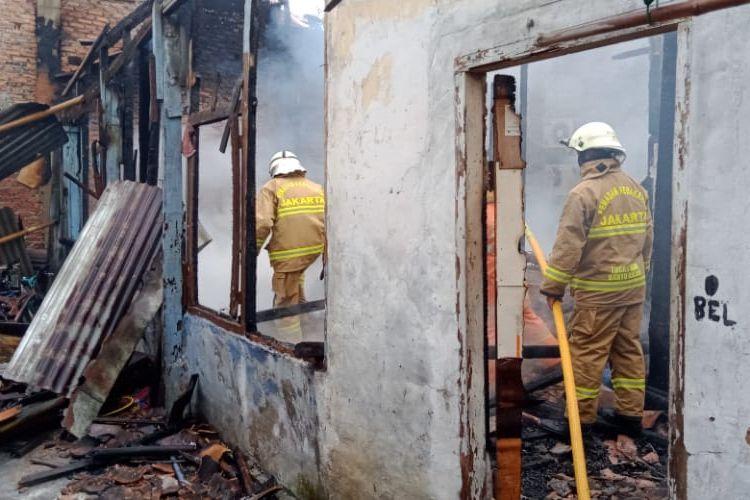 Kebakaran terjadi di Jalan Kalibata Utara 2 Rt.08/12, Kalibata, Pancoran, Jakarta Selatan pada Jumat (22/1/2021) sekitar pukul 16.15 WIB.