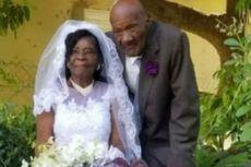 Setelah Pacaran Selama 10 Tahun, Wanita 91 Tahun Ini Menikahi Pacarnya