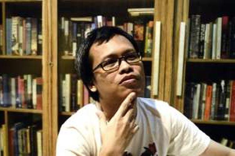 Penulis asal Indonesia, Eka Kurniawan.