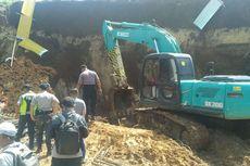 Longsor di Proyek Double Track Sukabumi-Bogor, 2 Pekerja Tewas Tertimbun