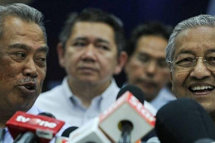 Mahathir Mohamad: Muhyiddin Khianati Saya, si Pecundang Bentuk Pemerintahan (AFP/ Mohd Rasfan)