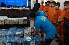 BNN Sita Sabu Total 581,31 Kg dari 3 Kasus Berbeda