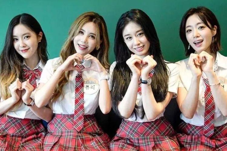 Girl group Korea Selatan, T-ara.
