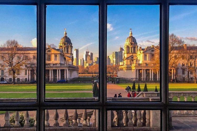 Old Royal Naval College, salah satu lokasi syuting The Crown
