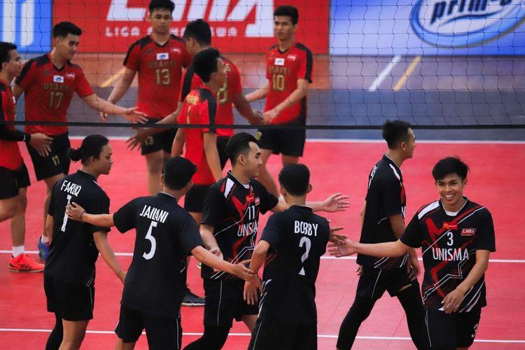 Pergelaran bertajuk Liga Mahasiswa (LIMA) Volleyball Nationals Season 7 dimulai Senin (23/9/2019) sampai dengan Jumat (27/9/2019).