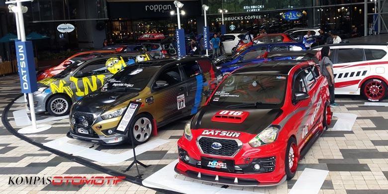 Hasil modifikasi Datsun buat Datsun Xplore Your Style dari regional di Jakarta, Jumat (16/12/2016).