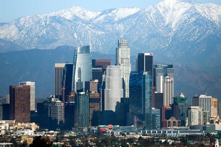 Gedung-gedung di Los Angeles