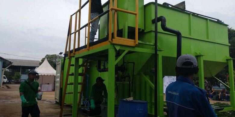 Teknologi Andrich di IPLT Duri Kosambi yang dikelola PD PAL Jaya