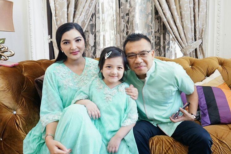 Suasana Lebaran Ceria Keluarga Anang Hermansyah dan Ashanty