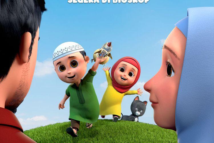 Poster Film Nussa menampilkan karakter Abba