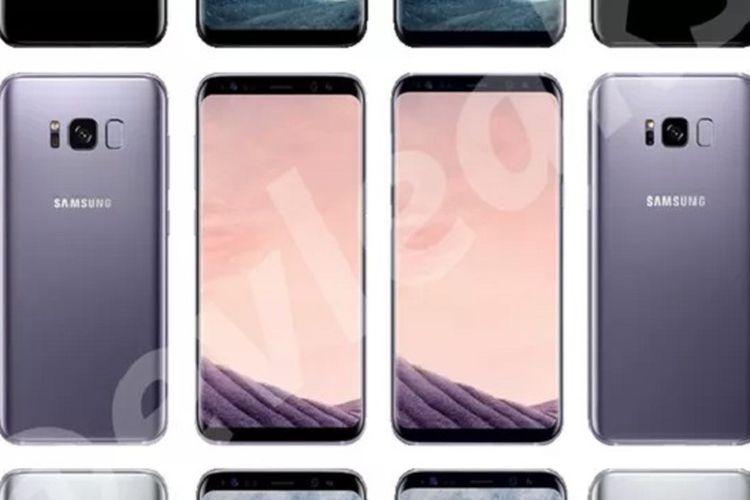 Galaxy S8 pasang fingerprint scanner di sampung kamera.