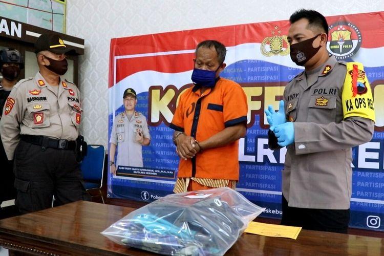Ungkap kasus di Mapolres Kebumen, Rabu (13/5/2020).
