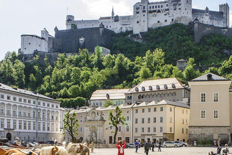 Kapitelplatz, Salzburg, Austria