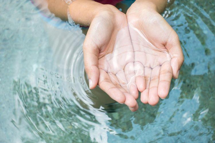 Ilustrasi air bersih