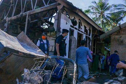 Puluhan Rumah dan Satu Masjid di Lombok Utara Hangus Terbakar