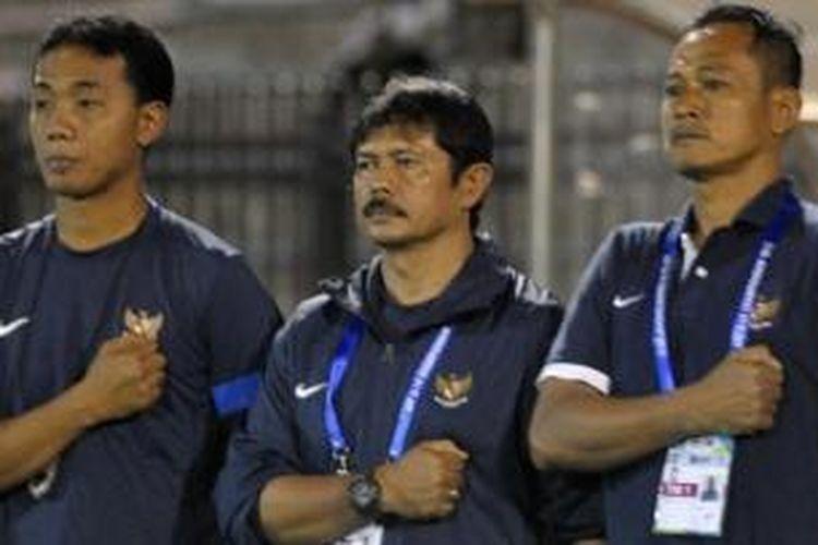 Pelatih tim nasional Indonesia U-19, Indra Sjafri,