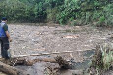 Banjir Bandang Sebabkan Sungai Terbendung Jadi Danau Lumpur, Warga Sukabumi Khawatir