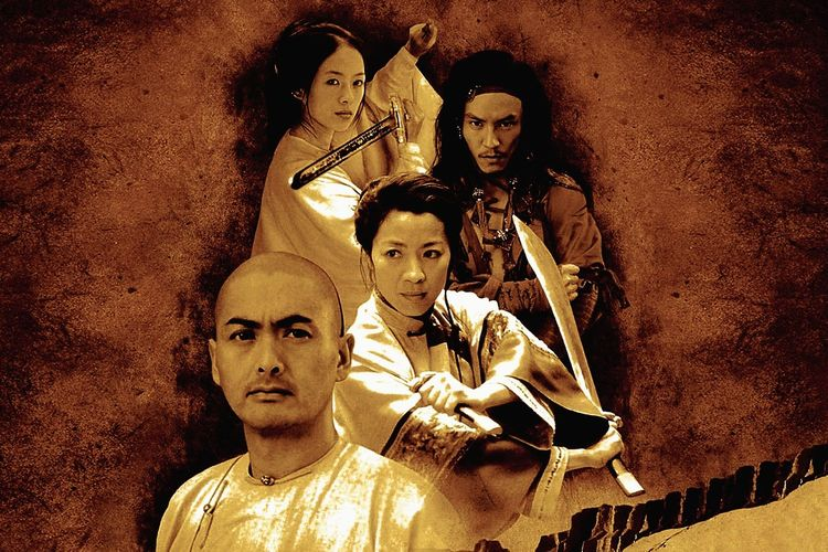 Poster film Crouching Tiger, Hidden Dragon