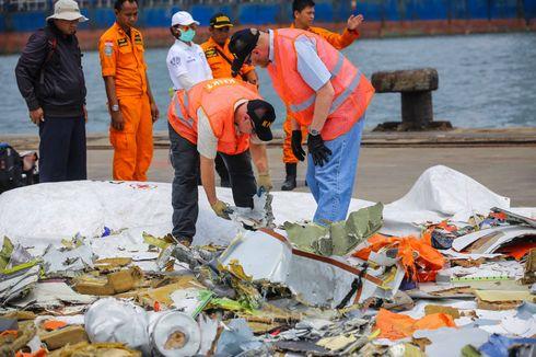 Penyelam Temukan Badan Pesawat Lion Air Berbentuk Serpihan Kecil