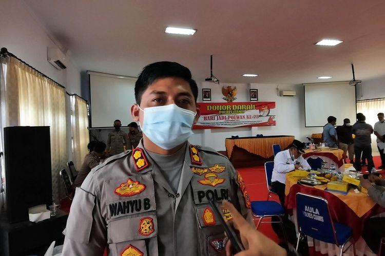 Kepala Polres Ciamis AKBP Wahyu Broto.