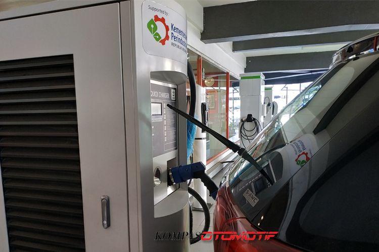 SPBU Kuningan, Jakarta Selatan menjadi pilot project Green Energy Station (GES).